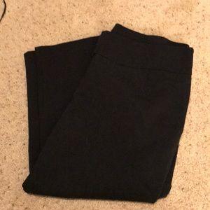 Black dress capris. The Torie Capri.